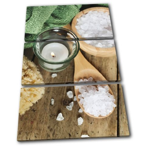 Bath Salts Candle Bathroom - 13-1246(00B)-TR32-PO